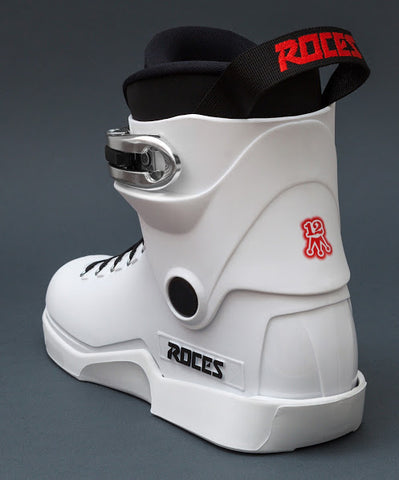 Roces M12 Lo Aggressive Inline Skates Boot Only - White