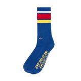 Lakai Indy Crew Sock - Navy
