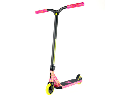 Root Industries Invictus Complete Scooter - Pink/Yellow/White
