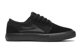 Lakai Shoes Griffin Kids - Black/Black Suede