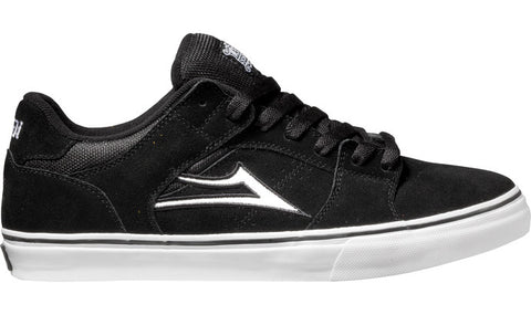 Lakai Shoes Carroll Select Low - black/white suede