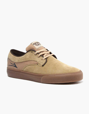 Lakai Shoes Riley Hawk - Walnut Suede