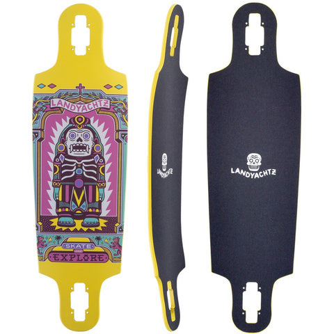 "Landyachtz Drop Cat Illuminacion 33"" Longboard Deck"