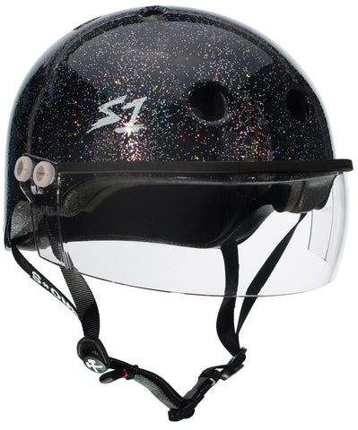 S1 Lifer Visor Gen 2 Helmet - Black Gloss Glitter