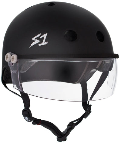 S1 Lifer Visor Gen 2 Helmet - Black Matte