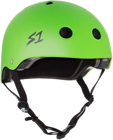 S1 Lifer Helmet - Bright Green Matte