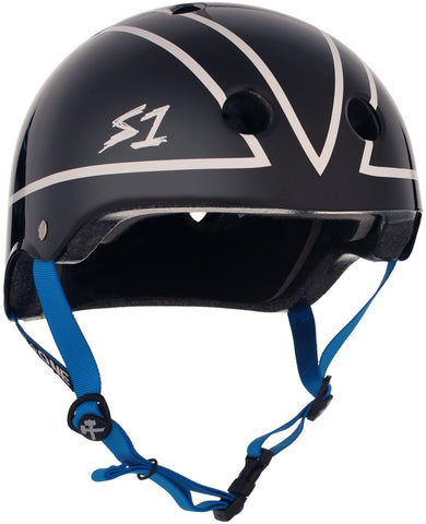 S1 Lifer Helmet - Black Gloss Lonny Hiramoto Collab