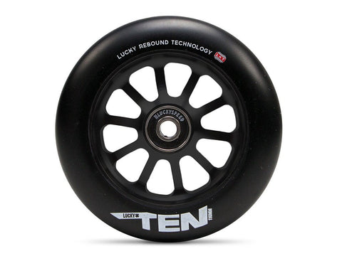 Lucky Scooter Wheel 2016 TEN 110mm - Black/Black (Pair)