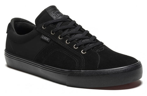 Lakai Shoes Flaco - Black/Black Suede