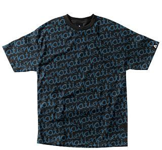 Matix Tee Jagged Edge - Black