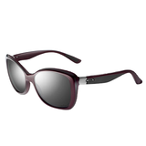 Oakley Sunglasses News Flash Pomegranate W/Grey Polarized