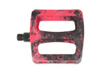Odyssey BMX Twisted Pro PC Pedals - Black/Red Swirl
