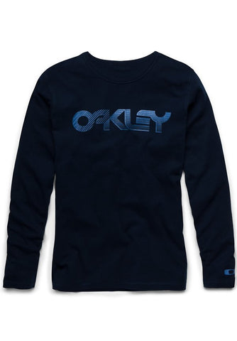 Oakley Long Sleeve Current Edition- navy blue