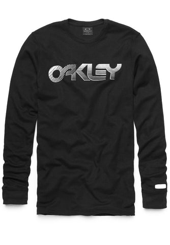 Oakley Long Sleeve Current Edition- jet black