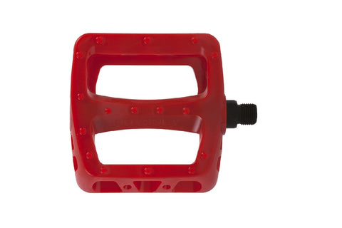 Odyssey BMX Twisted PC Pedals - Painted Red