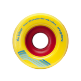 Orangatang The Kilmer 69mm 86a yellow Longboard Wheels (Set of 4)