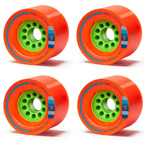 Orangatang Kegel Orange Longboard Wheels - 80mm 80a