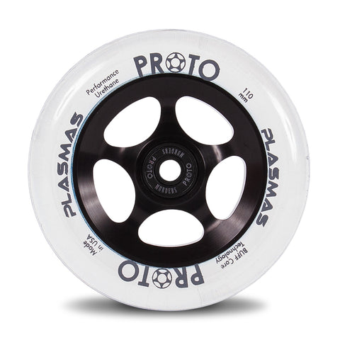 Proto Plasmas Wheels 110mm - Black Matter (Pair)