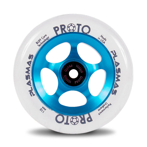 Proto Plasmas Wheels 110mm - Electric Blue (Pair)