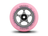 Proto Faded Gripper Wheels 110mm - Pastel Pink on Ghost Grey (Pair)