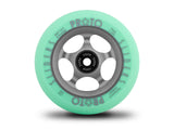 Proto Faded Slider Wheels 110mm - Pastel Green on Ghost Grey (Pair)