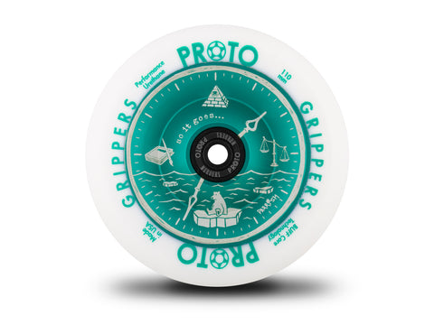 Proto Time's Up Grippers Wheels 110mm - Parrish Isaacs Signature (Pair)