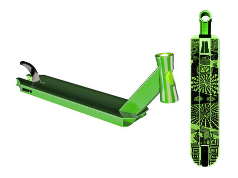 Lucky 2017 PROSPECT Pro Scooter Deck - Halo Green