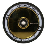 Root Industries 110mm AIR Wheels - Black/Gold Rush (Pair)