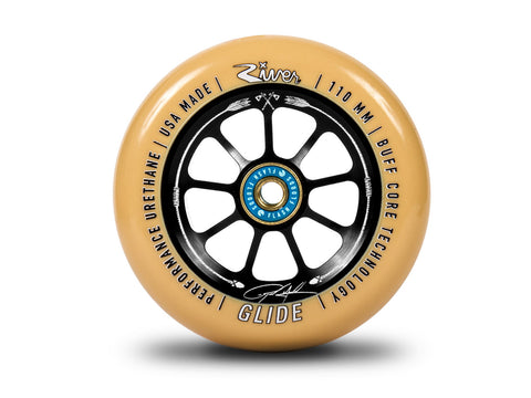 River Wheels Ryan Gould-Savage Signature Glide 110mm - Gum On Black (Pair)