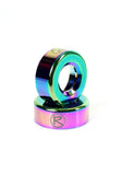 Revolution Metal Bar Ends - Neo Chrome