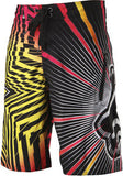 Rockstar Boardshort Spike Vortex - flame red