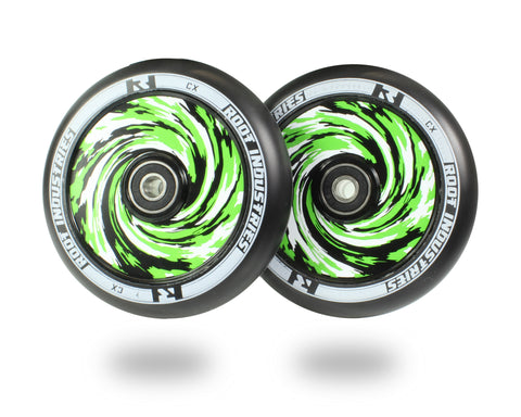 Root Industries AIR Wheels 110mm - Black/Amazon (Pair)