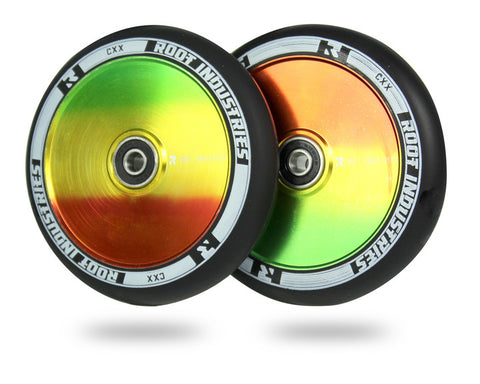 Root Industries 120mm AIR Wheels - Black/Marley (Pair)