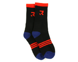 Root Industries Three Stripes Socks - Black