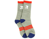 Root Industries Three Stripes Socks - Grey