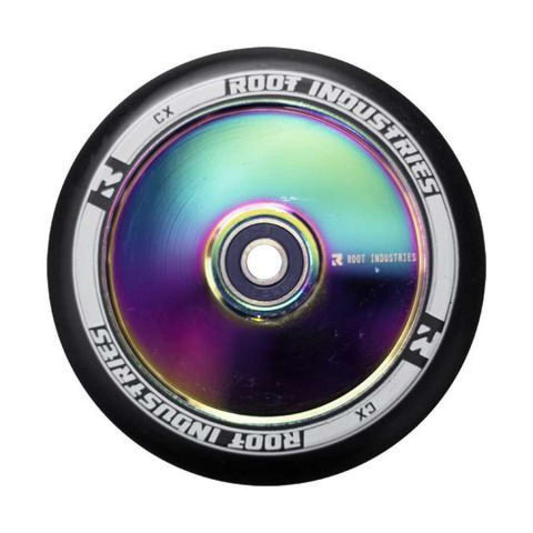 Root Industries 120mm AIR Wheels - Black/Rocket Fuel (Pair)