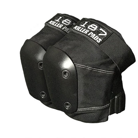 187 Slim Knee Pads - Black/Black