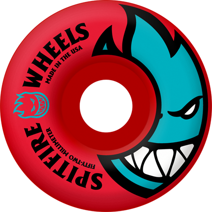 Spitfire Wheels Bighead rocket red  52mm - set