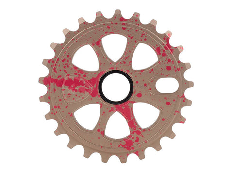Subrosa BMX Petal Sprocket 28T - Blood Splatter