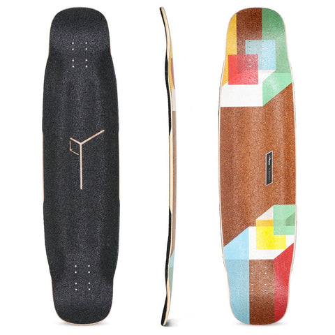 Loaded Tesseract Bamboo Longboard Deck - Original