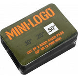 "Mini Logo Rigid Riser Pads 1/2"" - Black (Set of 2)"