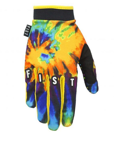 Fist Tie Dye Orange Glove