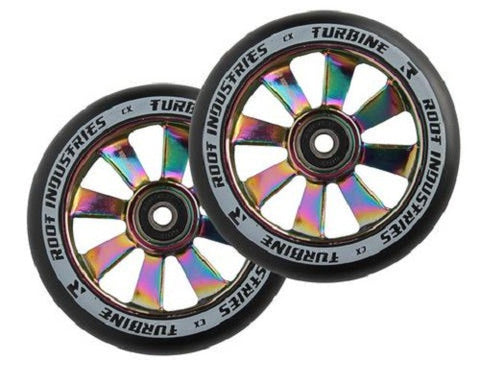 Root Industries 110mm Turbine Wheels - Rocket Fuel (Pair)