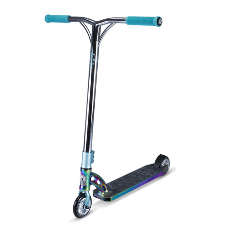 MGP VX7 Team Limited Edition Complete Scooter - Neo-Chrome/Blue