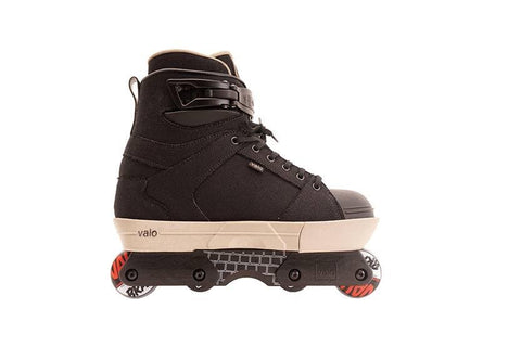 Valo TV 2 JJ Retro Complete Aggressive Skate - Black Hemp