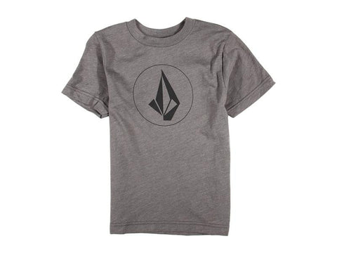 Volcom Tee Half Stone Icon Youth- grey
