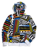 Volcom Hoodie Maguro Full Zip Youth- white