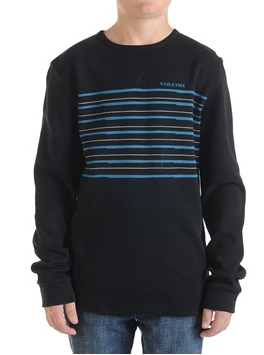 Volcom Root Bound LS Thermal Youth-black