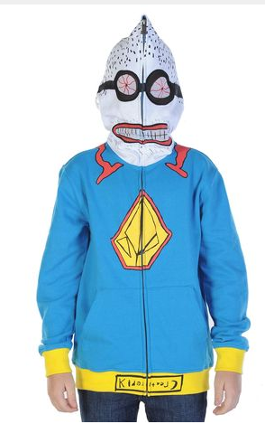 Volcom Sweatshirt Super Kreature Boys Fleece- atlantic