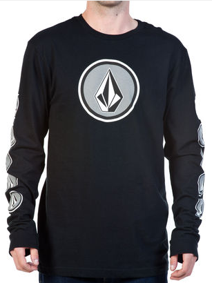 Volcom Tee Cognito Long Sleeve- black